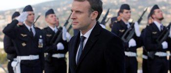 ادعای ماکرون راجع به «مشروعیت» حمله غرب به سوریه